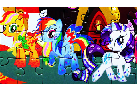 My Little Pony Puzzle Game Rompecabezas Kids Jigsaw ...