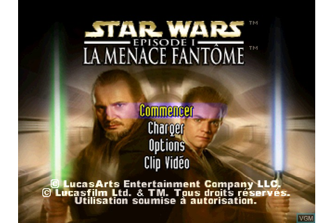 Star Wars - Episode I - The Phantom Menace for Sony ...