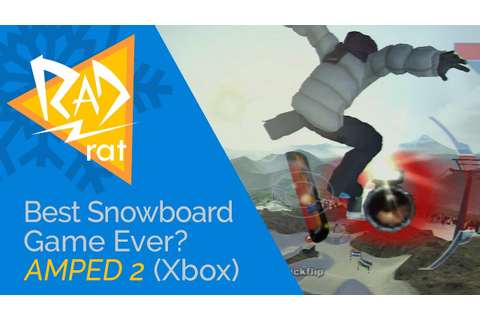 Best Snowboarding Game of All Time? Amped 2 Review (Xbox ...