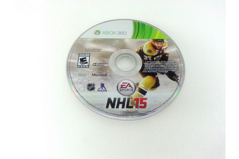 NHL 15 game for Xbox 360 (Loose) | The Game Guy