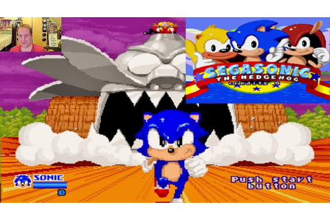 SegaSonic The Hedgehog ARCADE GAME GOODNESS - YouTube