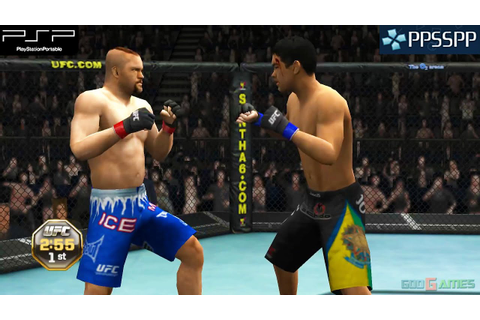 UFC Undisputed 2010 - PSP Gameplay 1080p (PPSSPP) - YouTube