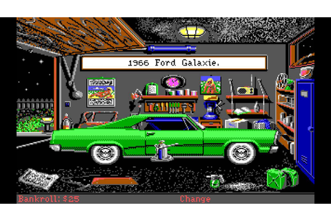 Street Rod 2 (PC/DOS) 1990, California Dreams - YouTube