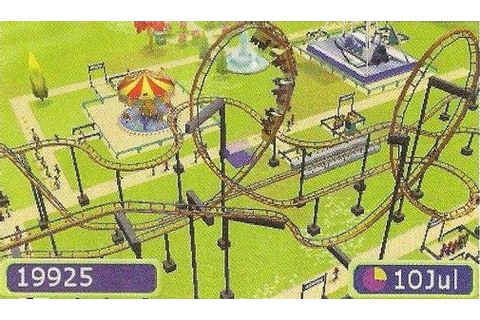 RollerCoaster Tycoon announced for the Nintendo 3DS