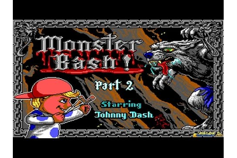 Monster Bash 2 gameplay (PC Game, 1993) - YouTube