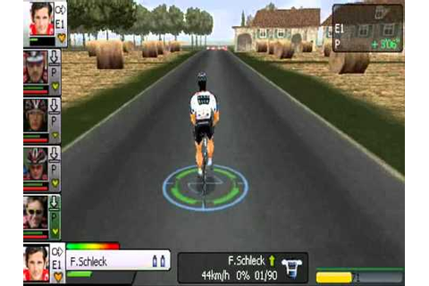 Pro Cycling Manager 2010 PSP - Tour de France 2010 Stage 2 ...