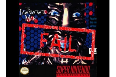Awful Games: The Lawnmower Man (SNES) - YouTube