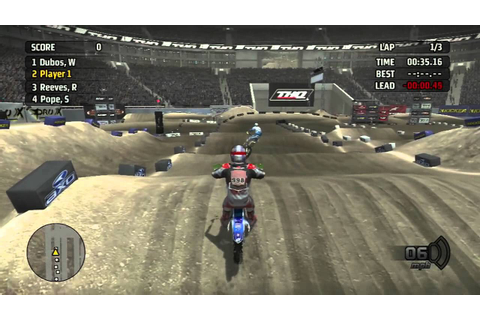 MX vs ATV Untamed | First Race | Live Comm - YouTube