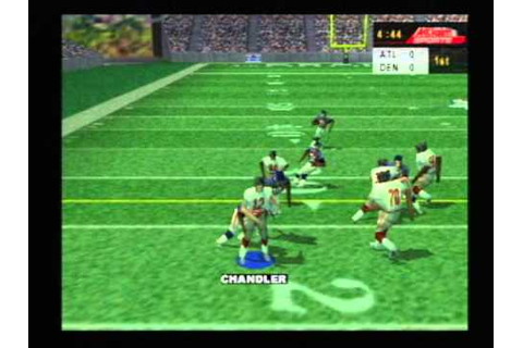 NFL Quarterback Club 2000 - Nintendo 64 - YouTube