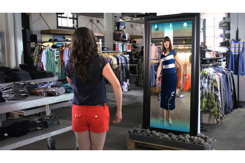 Kinect for Windows Retail Clothing Scenario Video - YouTube