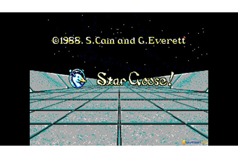 Star Goose gameplay (PC Game, 1988) - YouTube