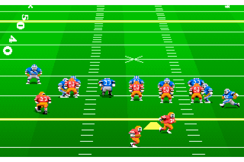 John Madden Football II (1991) by Electronic Arts MS-DOS game