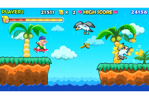 WONDER BOY RETURNS on PS4 | Official PlayStation™Store ...
