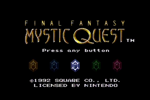 The RPG Consoler: Game #60: Final Fantasy Mystic Quest ...
