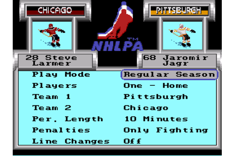 NHLPA Hockey '93 Download Game | GameFabrique