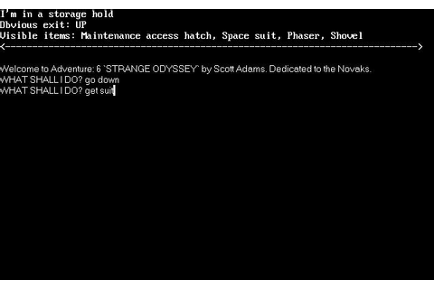 Strange Odyssey Download (1981 Adventure Game)