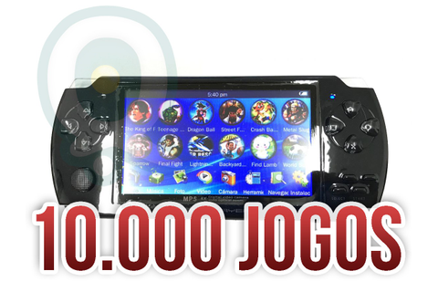 Mini Game Portátil Nova 10mil Jogos Player Mp3 Mp4 Mp5 - R ...
