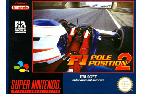 F1 Pole Position 2 for SNES (1993) - MobyGames
