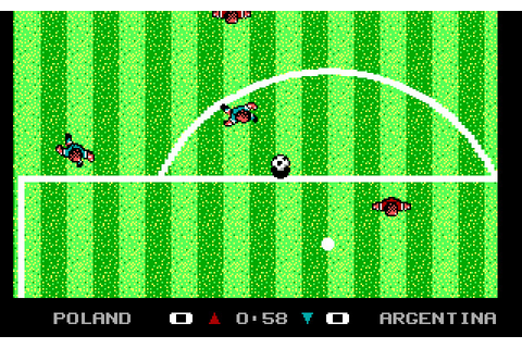 Microprose Pro Soccer - Play Online Classic Games
