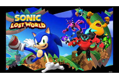 GameMovie #34 Sonic Lost World (Película completa en ...