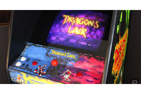 How modern tech saved my 'Dragon's Lair' arcade game ...