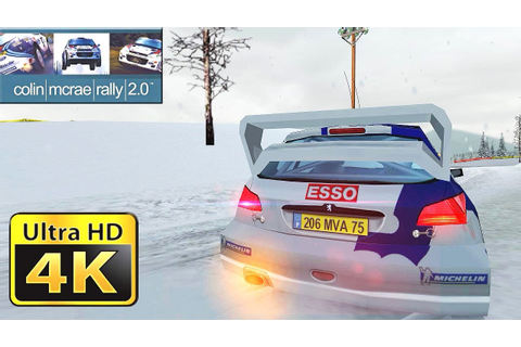 Old Games in 4k : Colin McRae Rally 2 - YouTube