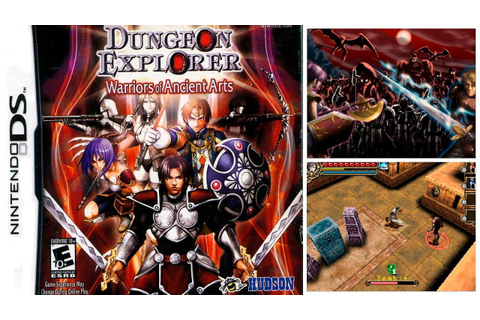 Dungeon Explorer: Warrior of the Ancient Arts (NINTENDO DS ...