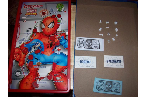 MARVEL SPIDER-MAN EDITION OPERATION GAME complete ...