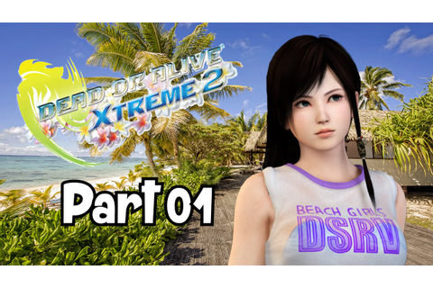 "Let's Play: Dead or Alive Xtreme 2 - Part 01 ""LP Virginity ..."