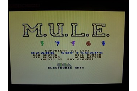 M.U.L.E. The Board Game to come to Table, Soon ...