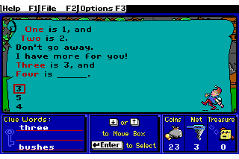 Super Solvers: Treasure Mountain! Screenshots for DOS ...