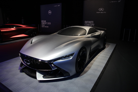 Infiniti Concept Vision GT is London first | Business Car ...