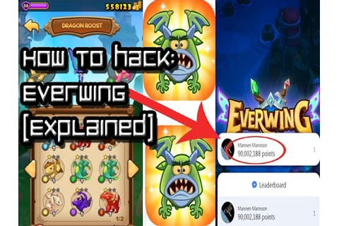 EVERWING HACK EXPLAINED [LEADERBOARD, COIN, XP] - YouTube
