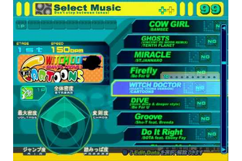 DDRMAX PS2 (JP) - FULL Song list Line Record - YouTube