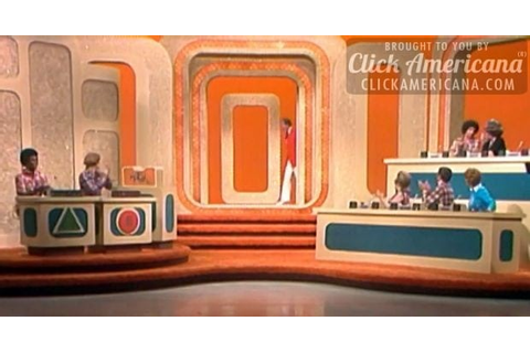 Match Game: A game show with some real blank - Click Americana