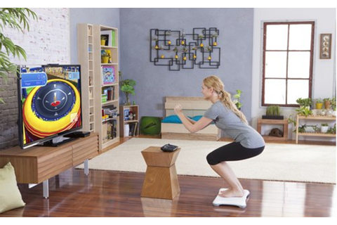 Wii Fit U w/Wii Balance Board accessory and Fit Meter at ...