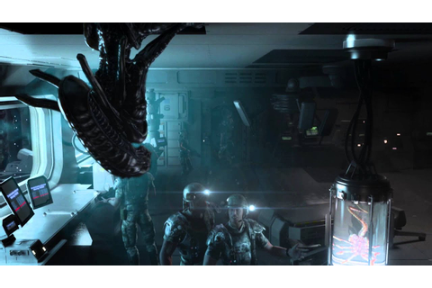 Aliens: Colonial Marines CGI trailer - YouTube