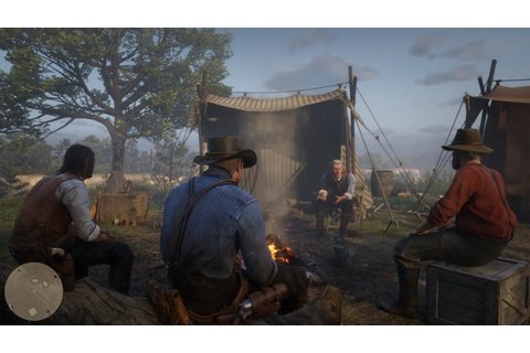 Red Dead Redemption 2 lets you set-up camp, groom horses ...