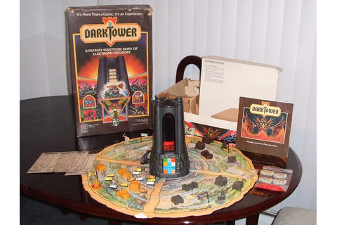 Dark Tower Electronic Board Game (1981). This game was ...