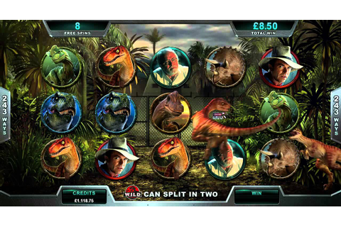 Jurassic Park™ Online Slot Game Promo - YouTube