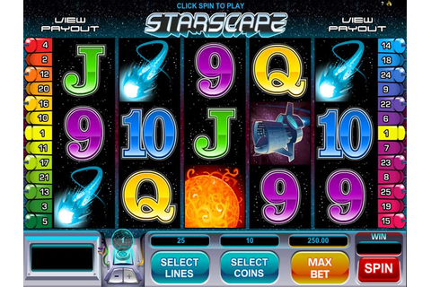 Play Slot Starscape by Microgaming