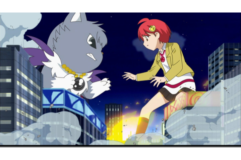 Image - Rinko faces againts Dian in an giant monster style ...