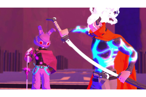 Furi ~ Unedited Boss Fight - YouTube