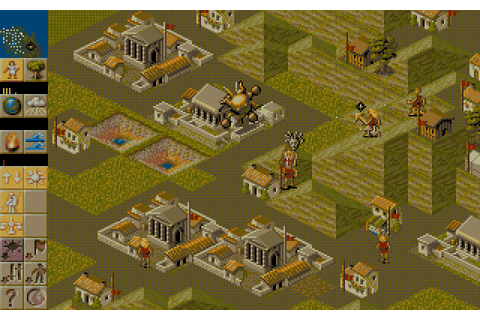 Populous II: Trials of the Olympian Gods (1993 - DOS ...