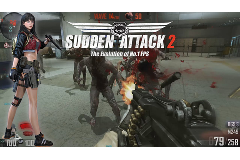 Sudden Attack 2 - Zombie Mode Gameplay - YouTube