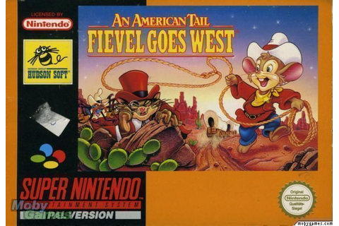 An American Tail - Fievel Goes West - Super Nintendo(SNES ...