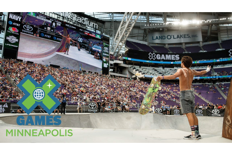 Rollout: The Best of Skateboarding at X Games Minneapolis ...
