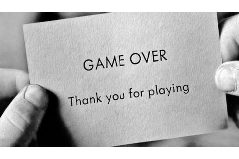 Game over thank you for playing | Saying Pictures