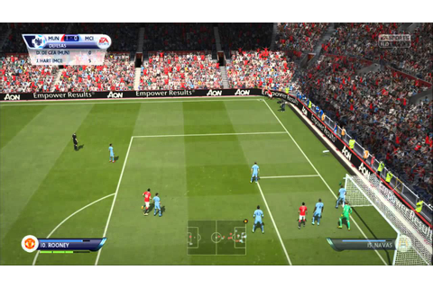 FIFA 15 PC - Manchester United x Manchester City - YouTube