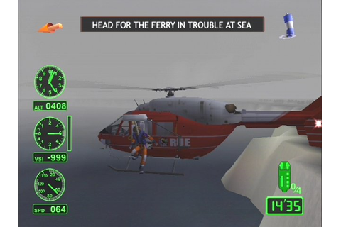 AIR RANGER RESCUE HELICOPTER PLAYSTATION 2 + WARRANTY PS2 ...